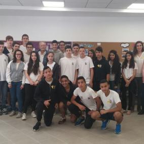 Zdjęcie z Akcji Żonkil ze szkoły Lady Davis z Tel Awiwu