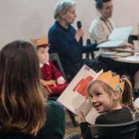 Po co dzieciom książki - dyskusja w ramach Czytelni POLIN