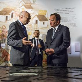 Premier Szwecji - Stefan Löfven, Dyrektor Muzeum POLIN - prof. Dariusz Stola