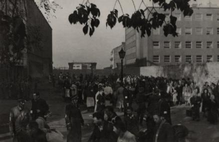 Umschlagplatz, okupowana Warszawa, getto warszawskie, Wielka Akcja Likwidacyjna