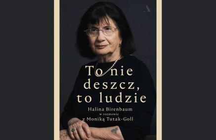 To nie deszcz, to ludzie - spotkanie z Haliną Birenbaum, Czytelnia POLIN