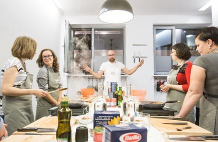Warsztaty kulinarne, Menora InfoPunkt, Bartek Kieżun, Krakowski Makaroniarz