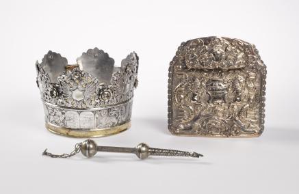 Korona, Tarcza na Torę, jad, Muzeum POLIN, zbiory
