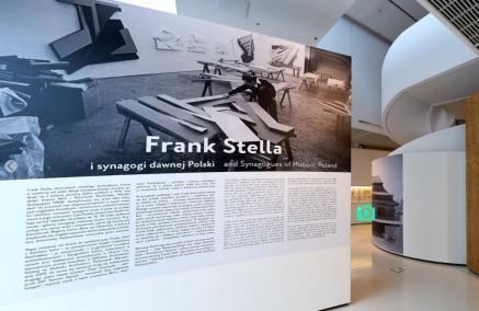 Frank Stella i synagogi dawnej Polski, spacer wirtualny