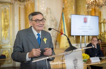 Marian Turski, honorowe obywatelstwo m.st. Warszawy