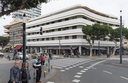 Zdjęcie Wojciecha Wilczyka - budynek modernistyczny Zina Dezingoff Circle