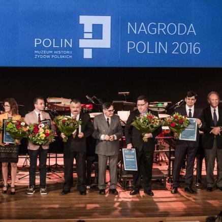 Laureaci i nominowani do Nagrody POLIN 2016