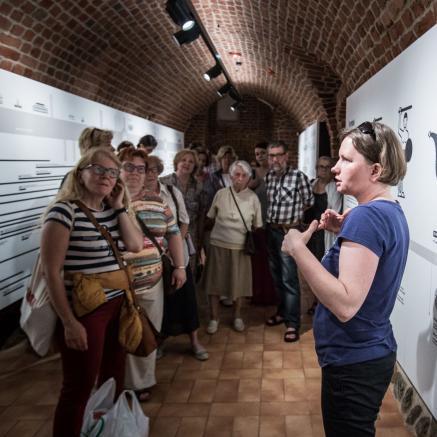 Klub Przyjaciół Muzeum w muzeum Warszawy