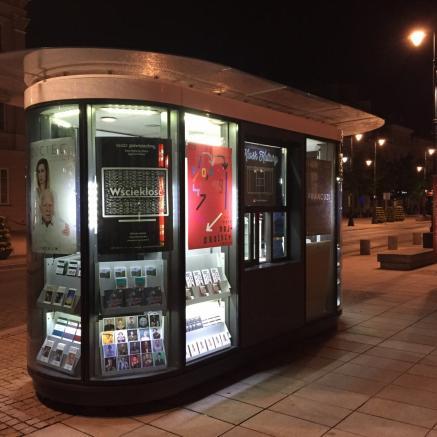 Kiosk Kultury - Krakowskie Przedmieście 7