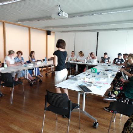 Participants of the Traning for Trainers during the meeting