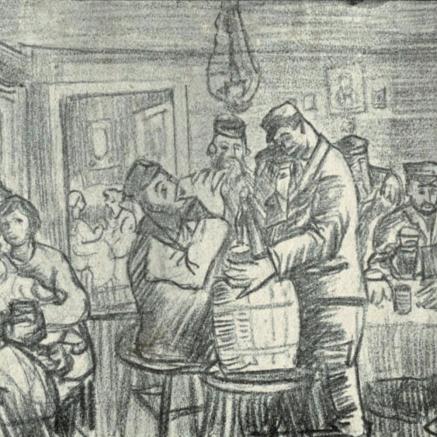 Szmuglerzy, Ojzer Warszawski, Czytelnia POLIN, Muzeum POLIN