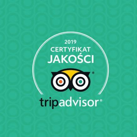 Certyfikat Jakości TripAdvisor 2019 dla Muzeum POLIN