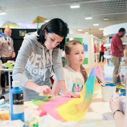 Tymczasem w Izraelu, warsztaty dla dzieci