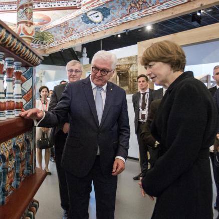 wizyta prezydenta Niemiec, Muzeum POLIN, czerwiec, 2018