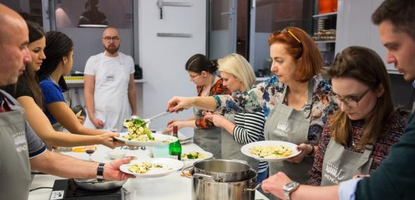 Warsztaty kulinarne, Menora InfoPunkt
