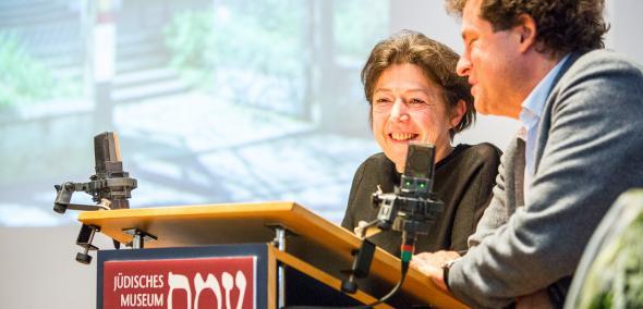 Felicitas Heimann-Jelinek i Hanno Loewy