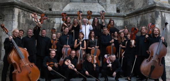 Wajnberg@100: Kronika wydarzeń bieżących – koncert Gidona Kremera i orkiestry Kremerata Baltica. Na zdjęciu: Członkowie orkiestry