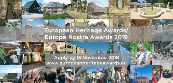 Europa Nostra Award, 2019