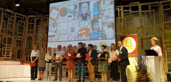 Portal Muzeum POLIN - Wirtualny Sztetl - otrzymał wyróżnienie w europejskim konkursie Comenius EduMedia Award