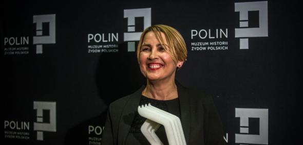 Joanna Podolska, Laureatka Nagrody POLIN 2017, fot. M. Starowieyska / Muzeum Historii Żydów Polskich
