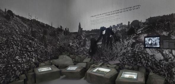 Galeria Powojnie, Wystawa stała Muzeum Historii Żydów Polskich POLIN