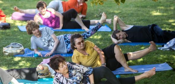 Zajęcia ruchowe dla seniorów
