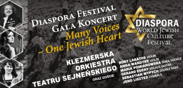 "Diaspora Festival Gala Koncert - ""Many Voices - One Jewish Heart"" 