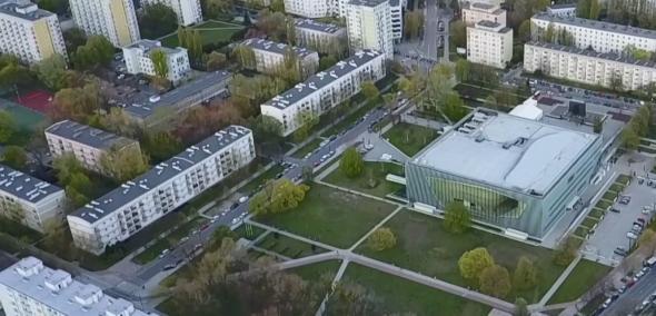 okolica Muzeum POLIN, ul. Lewartowskiego