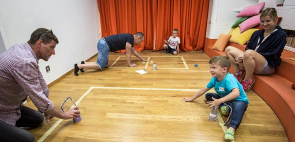 Rodzinna fabryka gier, warsztaty dla dzieci