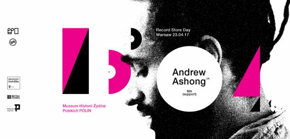 Andrew Ashong na Record Store Day Warsaw 2017