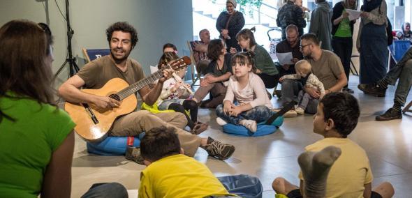 Światowy Dzień Uchodźcy, 2018, Muzeum POLIN