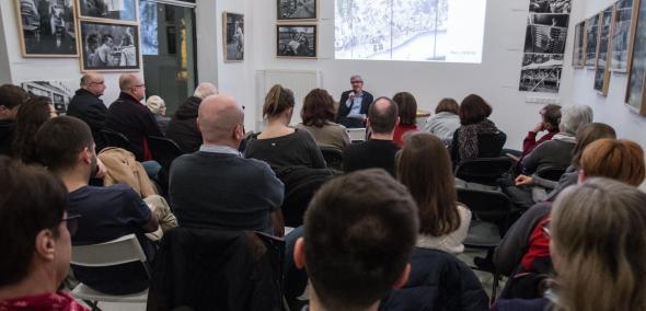 Wędrujący Uniwersytet Muranowski - spotkanie IX