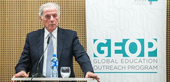 Prof. Itamar Rabinovich, wykład, Icchak Rabin. Sabra, przywódca, mąż stanu, GEOP