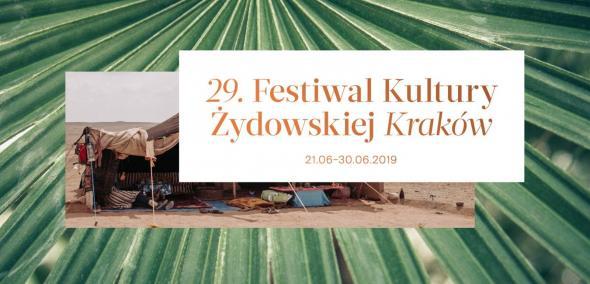 29. Festiwal Kultury Żydowskiej w Krakowie