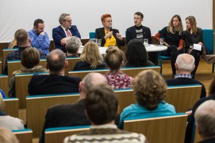 Paneliści dyskusji