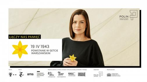 Akcja Żonkile 2017 - Agata Kulesza