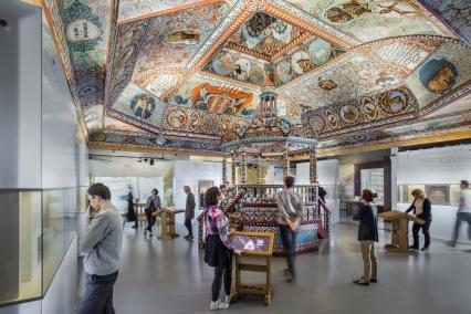 Wystawa stała, Rekonstrukcja synagogi z Gwoźdźca