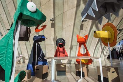 Iza Rutkowska, projekt, Muzeum POLIN, W Polsce króla Maciusia, wystawa czasowa, wystawa dla dzieci
