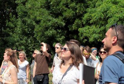 Wizje lokalne – wycieczki po Warszawie przyszłości, Biennale Warszawa, Muzeum POLIN