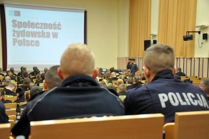 Wykłady nt. społeczności romskiej i żydowskiej w szkołach policyjnych, Muzeum POLIN