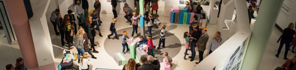 Wernisaż, W Polsce króla Maciusia, wystawa czasowa, dla dzieci, Muzeum POLIN
