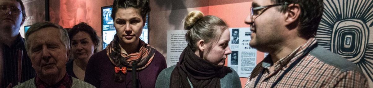 warsztaty dla osób z niepełnosprawnościami, Muzeum POLIN, wystawa,