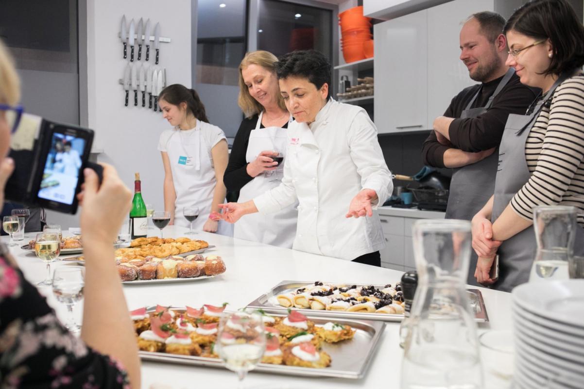 Warsztaty kulinarne z Alessią di Donato