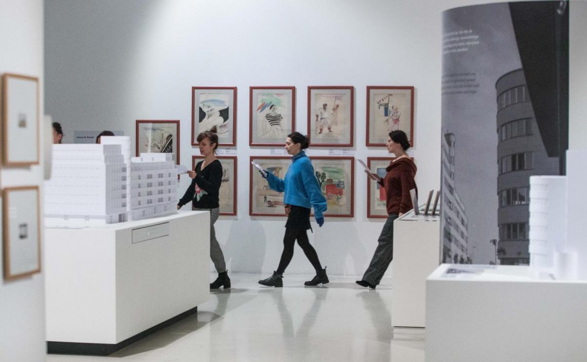 Chór POLIN na wystawie