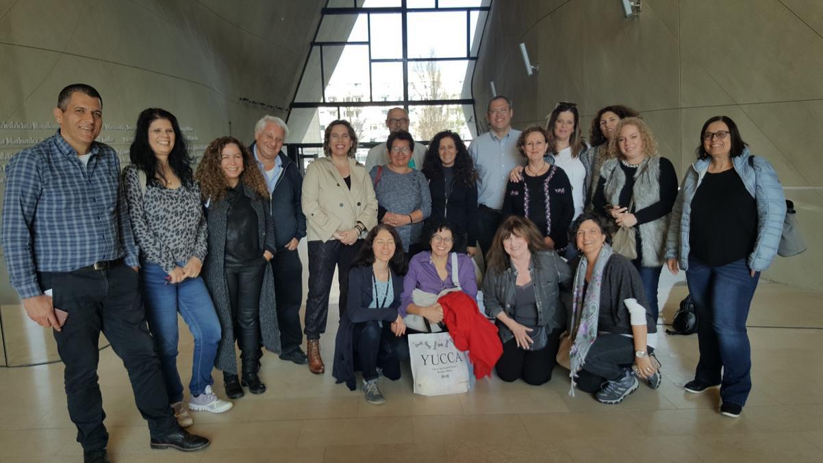 Wizyta 15 dyrektorów izraelskich liceów w Muzeum POLIN
