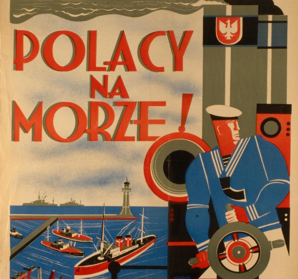 Na zdjęciu: Plakat propagandowy z hasłem