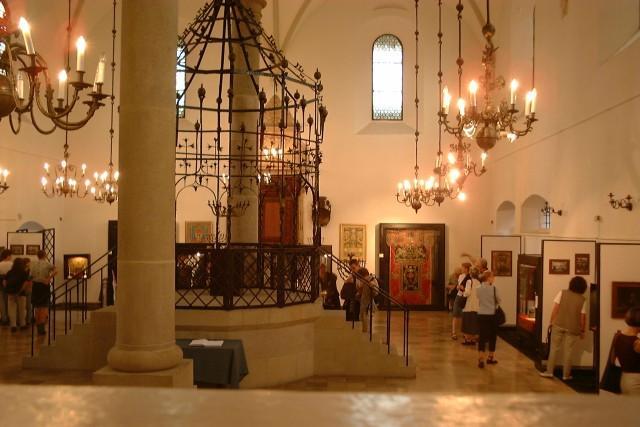 stara synagoga, bima, Kraków