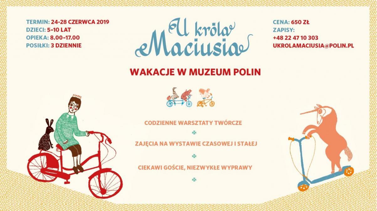 Półkolonie letnie w Muzeum POLIN - 2019