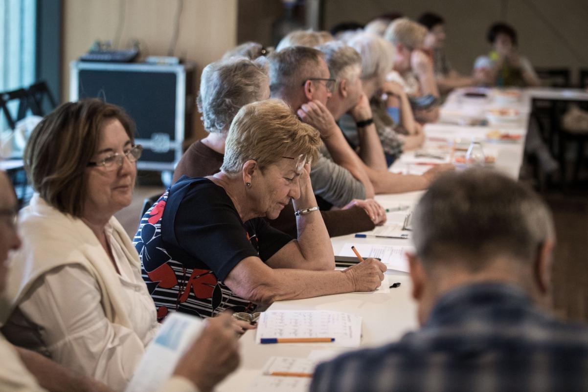 Spotkania tematyczne dla grup seniorów i seniorek