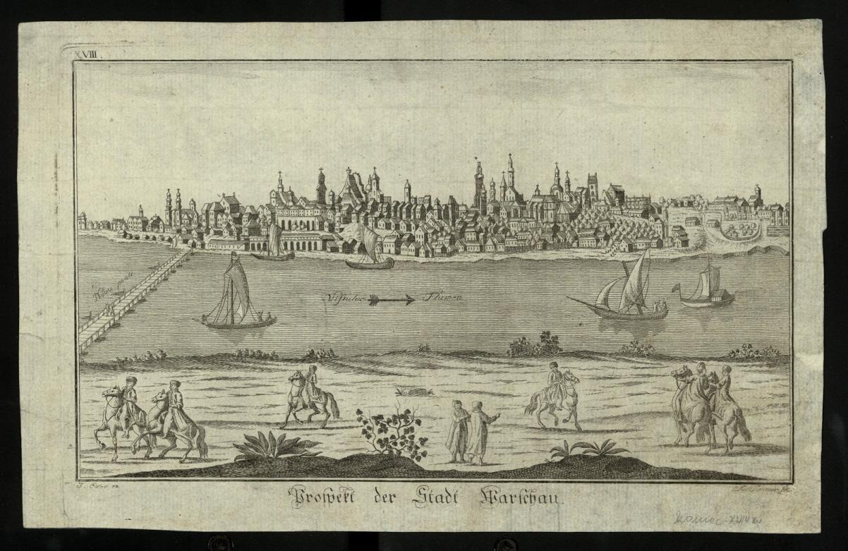 Warszawa w XVIII wieku